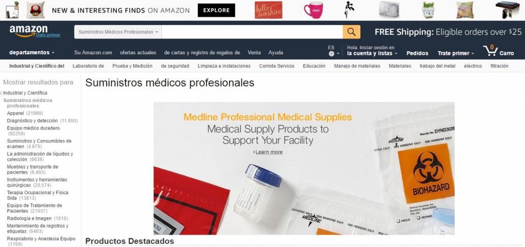 amazon medicina
