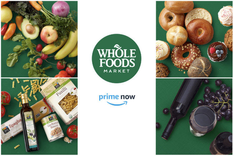 amazon prime now whole foods collage - México: Amazon venderá comestibles y bebidas no perecibles
