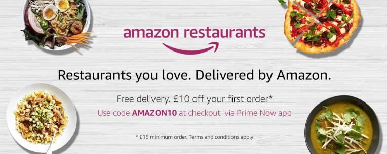 amazon restaurants - Amazon lanza tienda de productos de belleza y pone en riesgo a marcas del sector