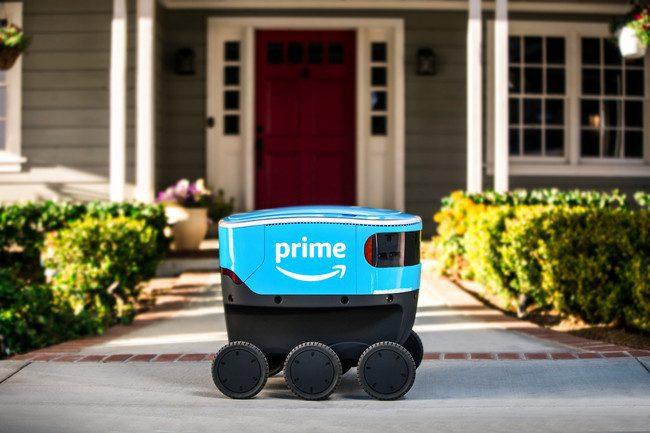 amazon robot - Amazon inicia pruebas de 'Scout', su primer robot autónomo