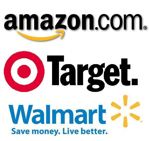 amazon target y walmart - Walmart, Target y Amazon obtuvieron mayores ventas en el 'Día de Acción de Gracias'