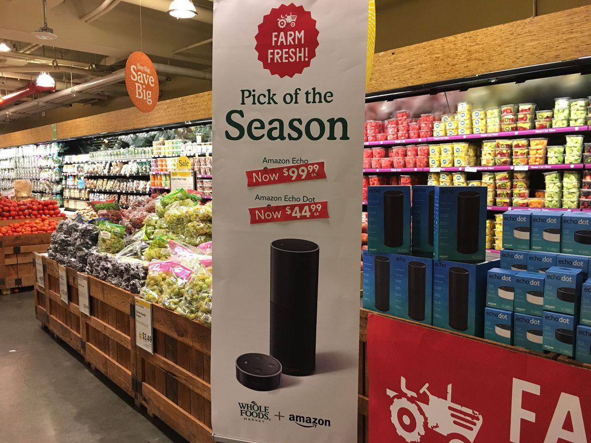 amazon whole foods - Amazon alista posible compra de una cadena de supermercados en Francia