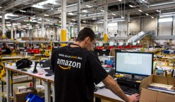Opening Of News Amazon.Com Inc. Fulfillment Center