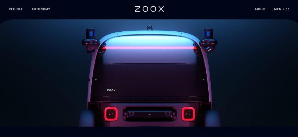 amazon zoox auto 2020