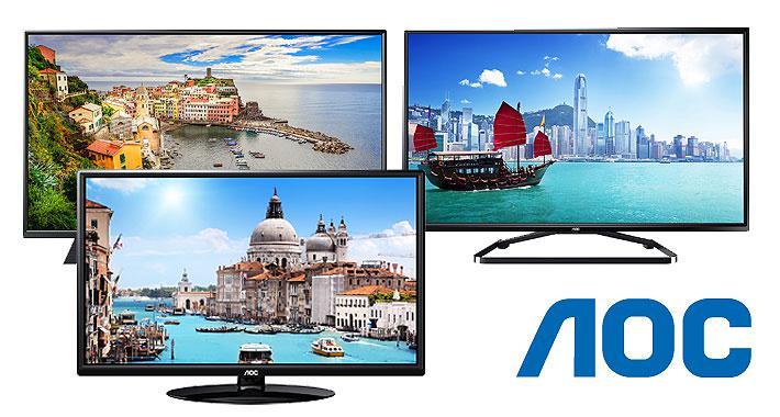 aoc televisores - AOC planea sacar a la venta televisores Ultra HD a mediados de año