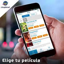 app mobile cineplanet