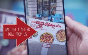 app realidad aumentada pizza hut 300x186 - Conozca la app de Pizza Hut que detecta las ofertas de la competencia