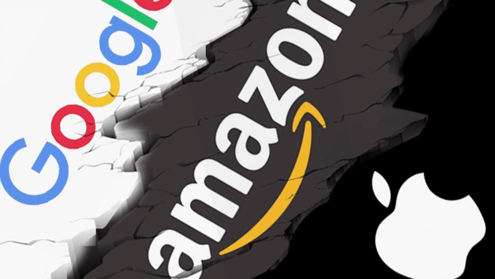 apple google amazon - Apple, Google y Amazon son las marcas más valiosas del mundo