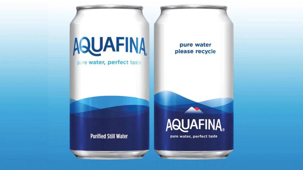 aquafina lata pepsi 1024x576 - Coca Cola y Pepsi venderán agua en latas ante rechazo al plástico
