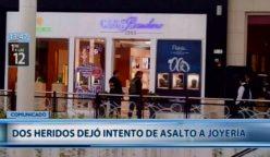 asalto casa banchero jockey plaza 248x144 - Jockey Plaza: Dos policías heridos tras balacera por robo a joyería