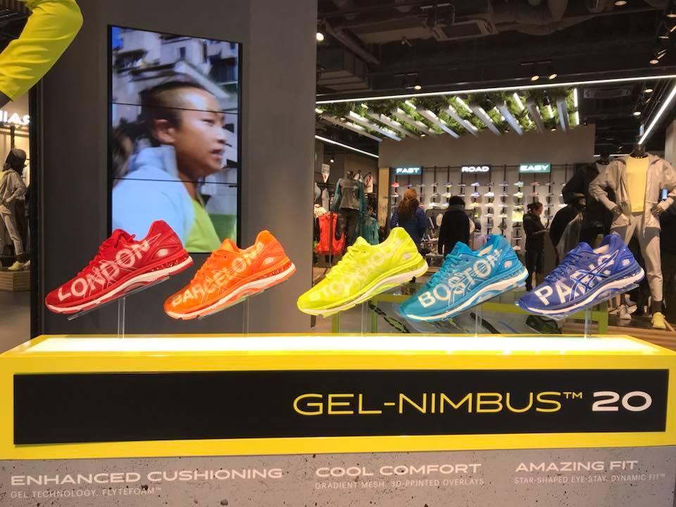 asics calzado - Asics redobla su apuesta en el mercado español