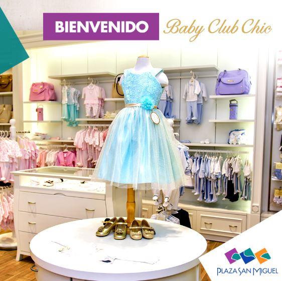baby club 1 - ¿Cuáles son las nuevas marcas que ingresaron a Plaza San Miguel?