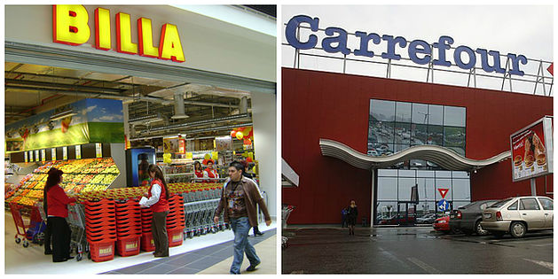 billa carrefour