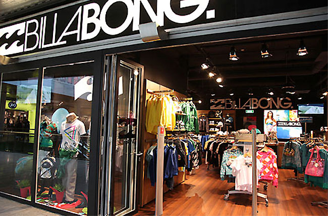 billabong store - E-commerce de Billabong creció 19.5% en América