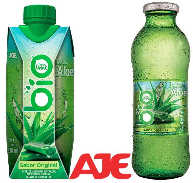 bio aleo aje - AJE aumenta su portafolio con nueva bebida de aloe