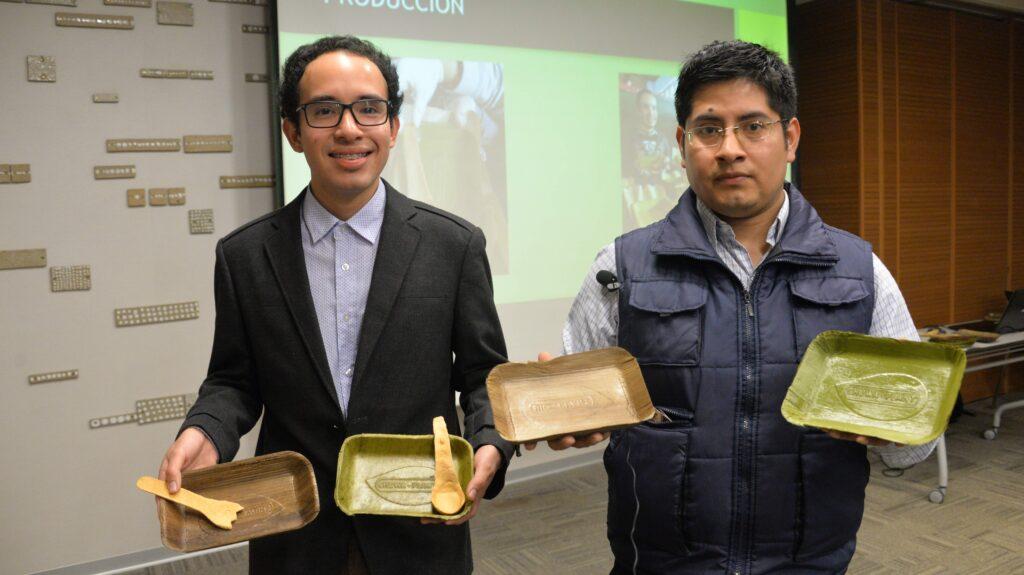bioplant 1 1024x575 - Peruanos crean platos biodegradables a base de hojas de plátano