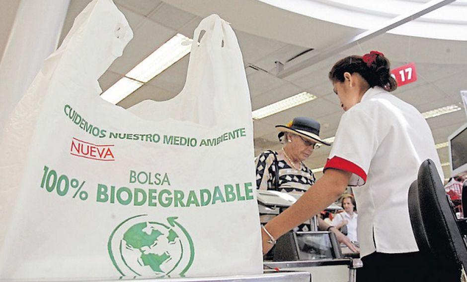 bolsa biodegradable - Perú: Más de la mitad de consumidores cree que el uso de bolsas para las compras es el mayor causante de desperdicio