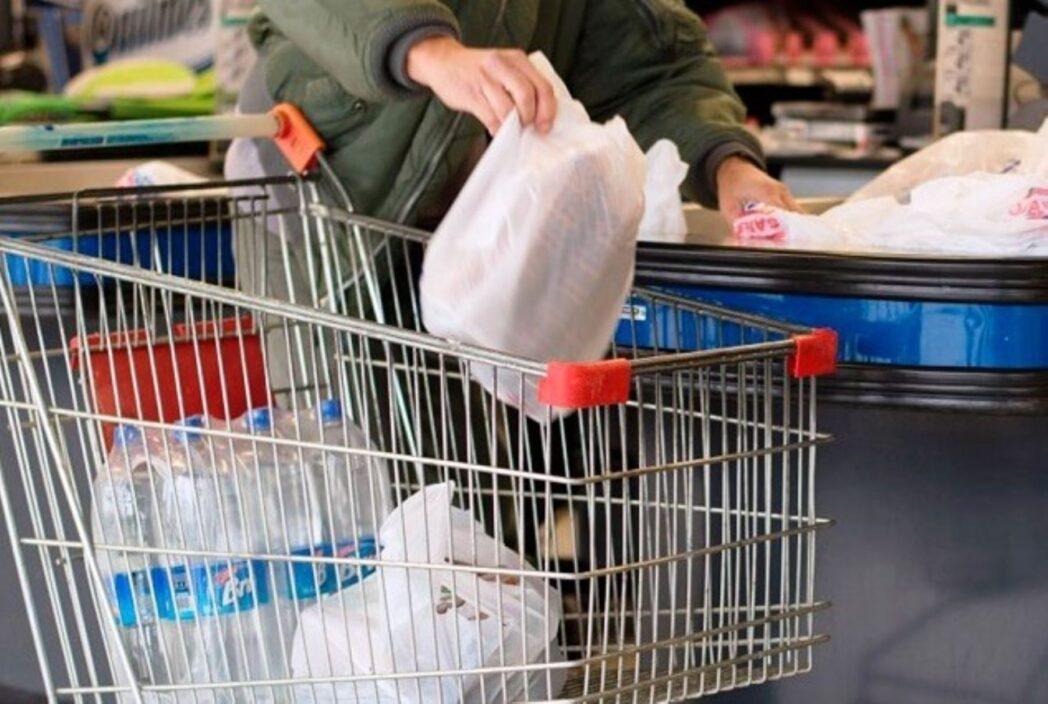 bolsas plásticas supermercado