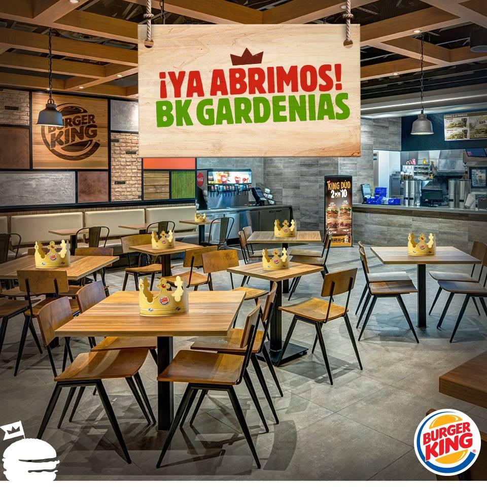 burger king 2 - Perú: Burger King inaugura su primer restaurante Garden Grill