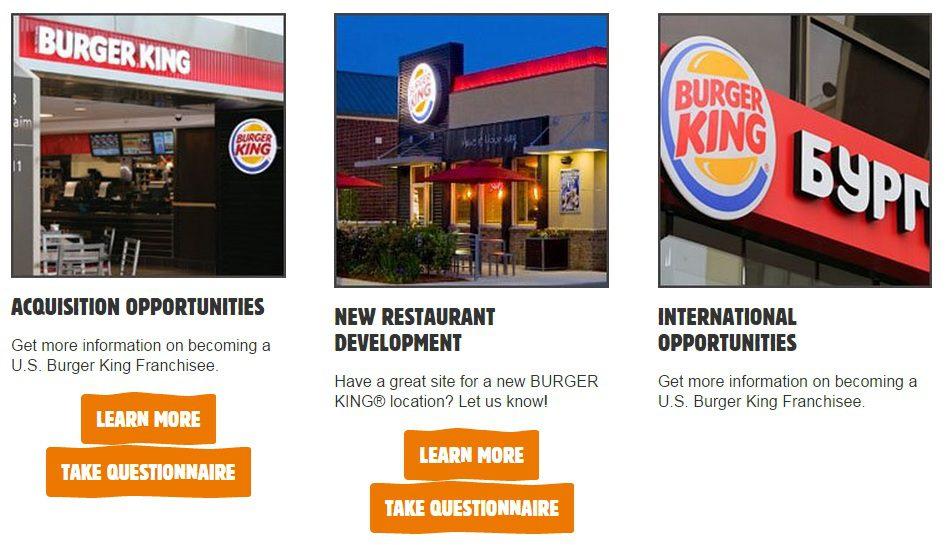 burger king franquicia