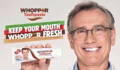 burger whopper pasta dental 240x140 - Whopper Toothpaste: La innovadora pasta dental de Burger King