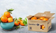 caja carrefour 240x140 - Carrefour es premiado por sus innovadoras cajas de envío de fruta