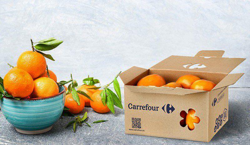 caja carrefour - Carrefour es premiado por sus innovadoras cajas de envío de fruta