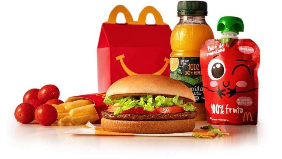cajita feliz nutritiva - McDonald's: Estos son los productos nutritivos que tendrá la Cajita Feliz