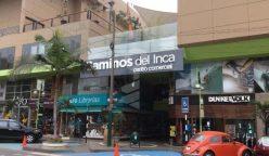 caminos del inca 248x144 - Centro comercial Caminos del Inca reabre sus puertas