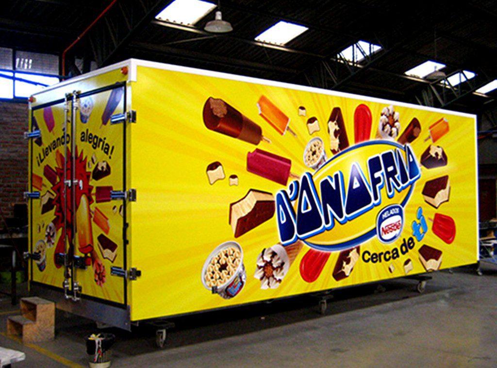 camion donofrio - Perú: D'Onofrio planea abrir heladerías en malls a finales de 2019