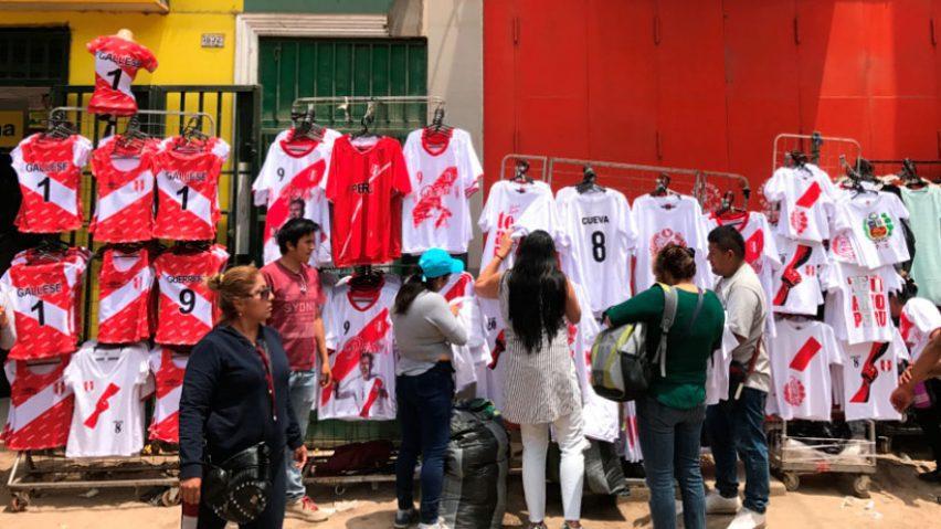 camisetas de la selección peruana - Así Gamarra aprovecha la Copa América para aumentar sus ventas
