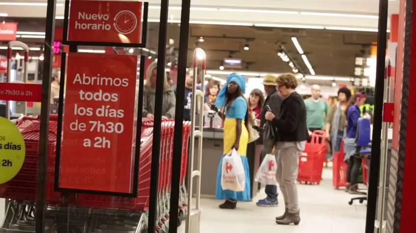 carrefour 24 - Carrefour abre el primer hipermercado 24 horas abierto en España