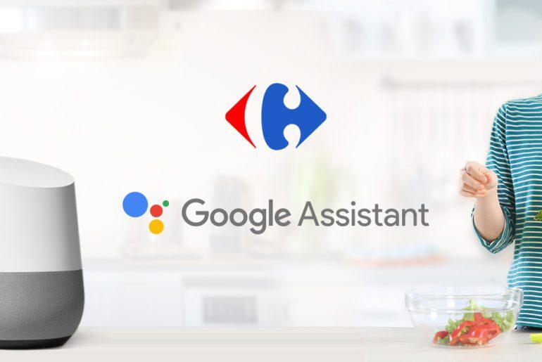 carrefour google assistant - Google y Carrefour firman acuerdo de comercio alimentario
