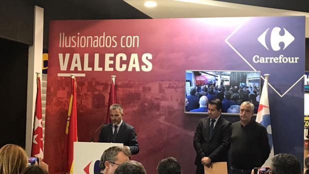 carrefour madrid 49 - Carrefour abre el primer hipermercado 24 horas abierto en España