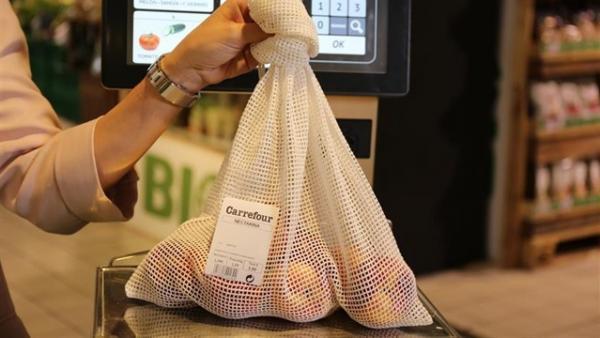 carrefour malla de algodón - Carrefour cambia bolsas de plástico por malla de algodón