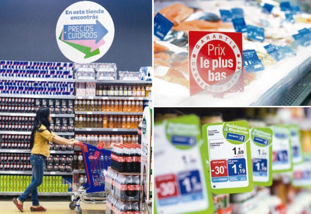 carrefour precios 2 1024x706 - Carrefour quiere liderar el nuevo modelo de distribución alimentaria