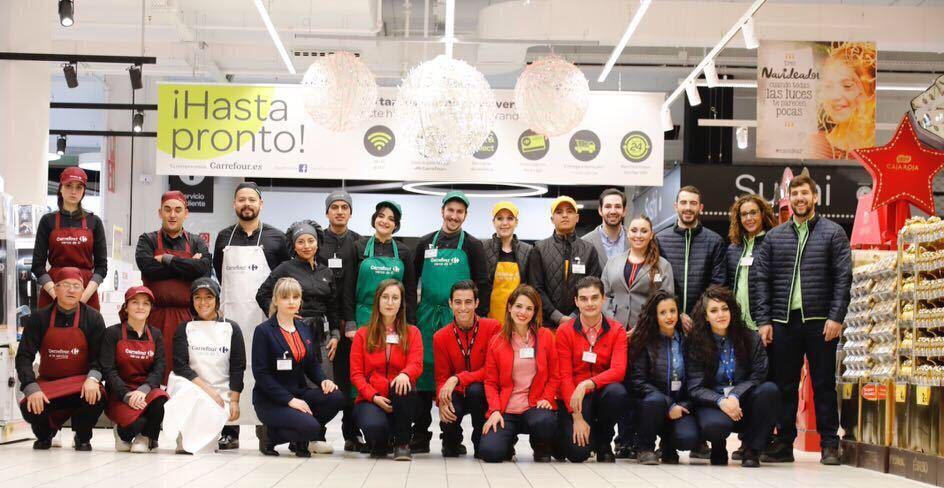 carrefour Plantilla Madrid Sur 1 - Carrefour abre el primer hipermercado 24 horas abierto en España