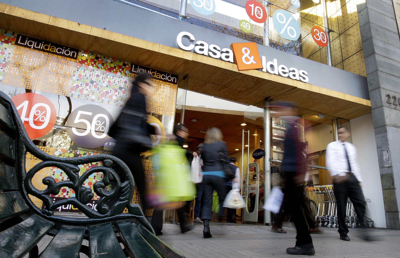 Fachada a tienda Casa&Ideas