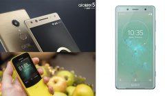 celulares 240x140 - MWC18: Conoce las novedades de Sony, Nokia y Alcaltel