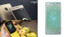celulares 248x144 - MWC18: Conoce las novedades de Sony, Nokia y Alcaltel