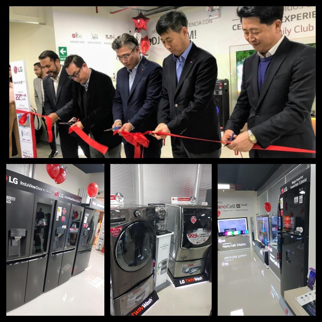 centro de experiencia de LG - Perú: LG abre nuevo centro de experiencia en Lima