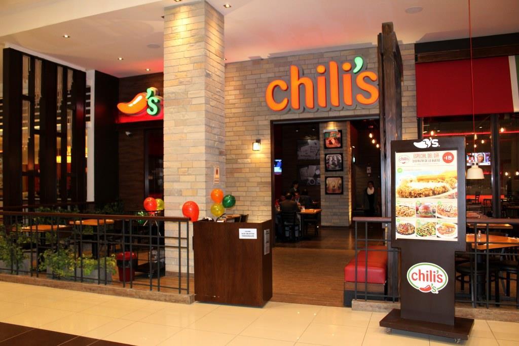 chilis open plaza huancayo - Chili's abrió nuevo restaurante en La Rambla de Brasil