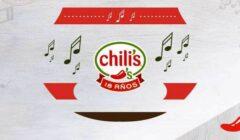 """chilis peru 18 años 240x140 - Chili's celebra con """"Noches de Música"""" sus 18 años en el Perú"""
