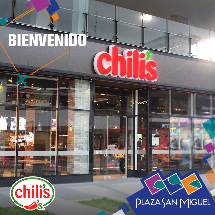 chilis san miguel - Perú: Chili's abre las puertas de su local en Plaza San Miguel