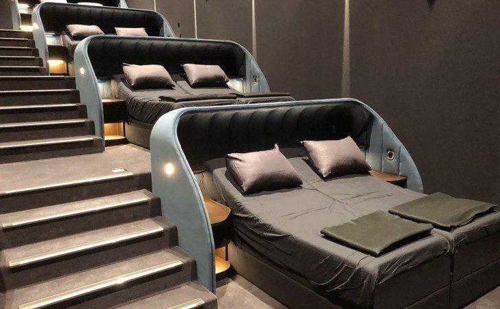 cine cama suiza - ¿Sabías que en Suiza existe un cine que en vez de asientos ofrece camas?