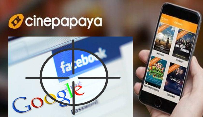 cinepapaya111 - Cinepapaya negocia con Facebook y Google sistema de compra de boletos para cines