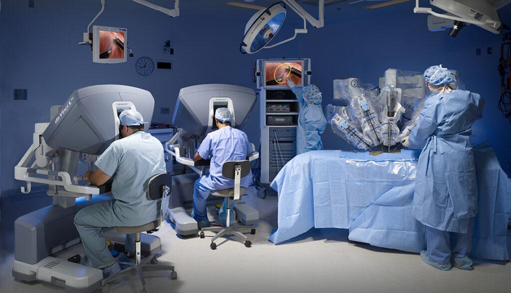 cirugia robotica 1024x588 - Liberar el potencial para nuevas experiencias del cliente con 5G