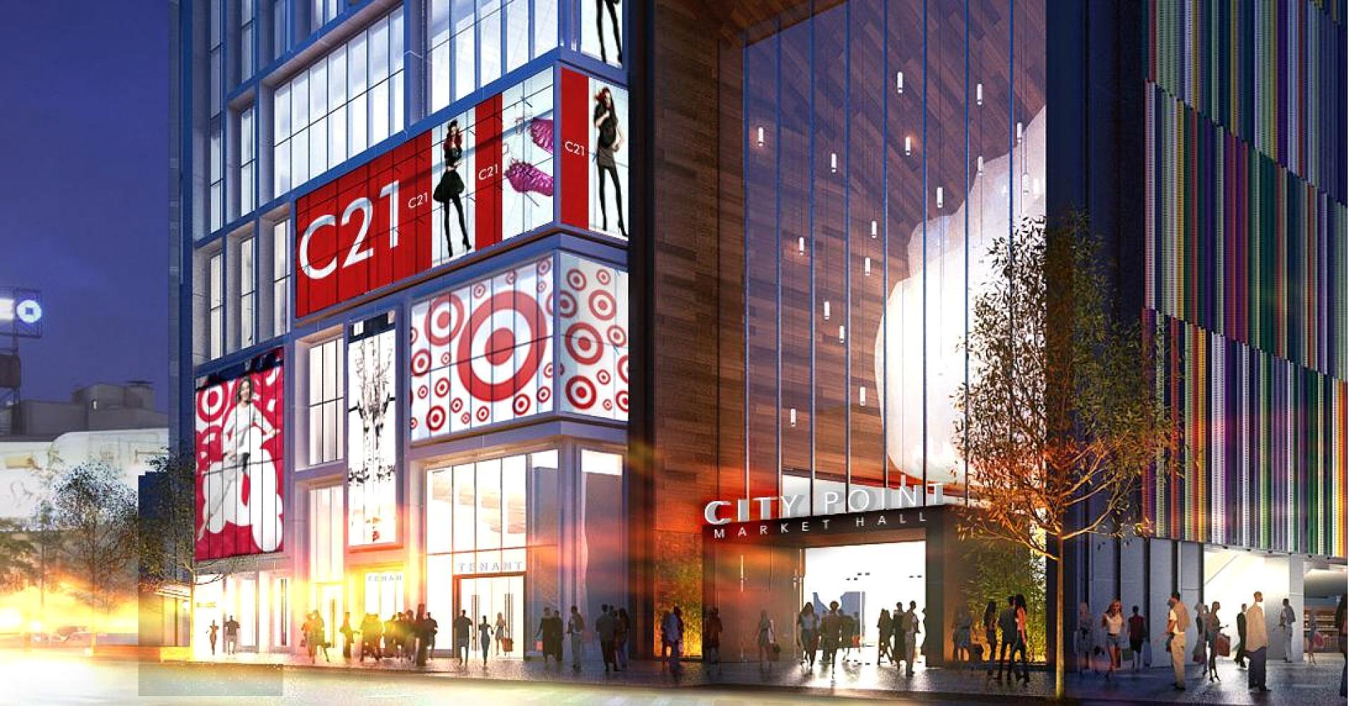 city point Flatbush Rendering CookFoxArchitects Neoscape.1910x1000 - El futuro de los centros comerciales estadounidenses