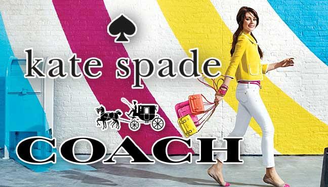coach kate spade - Marca de lujo Coach compra a su competencia Kate Spade por $2.400 mlls