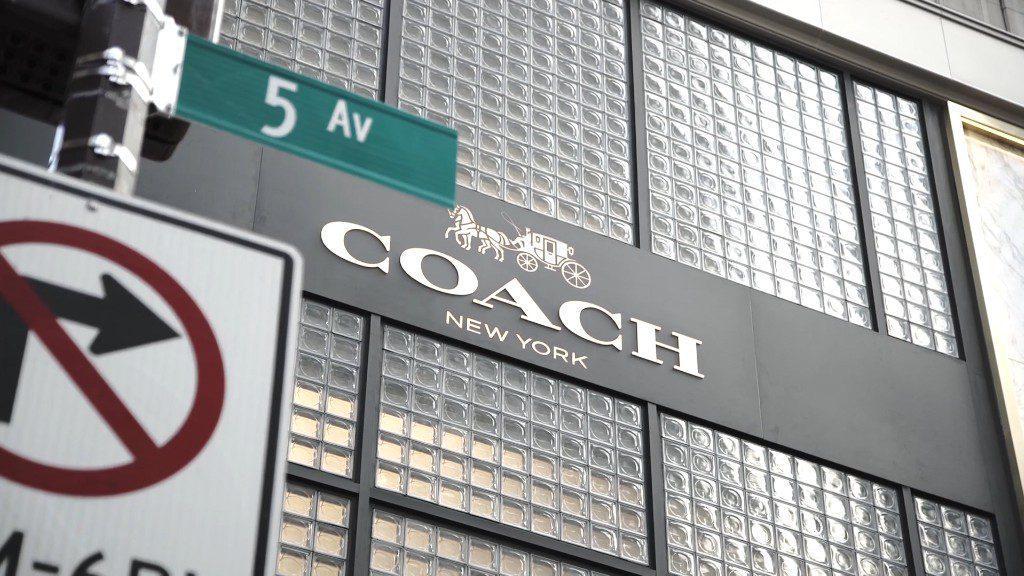 coach - Marca de lujo Coach compra a su competencia Kate Spade por $2.400 mlls